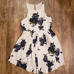 Free People Small Floral Sleeveless Dress